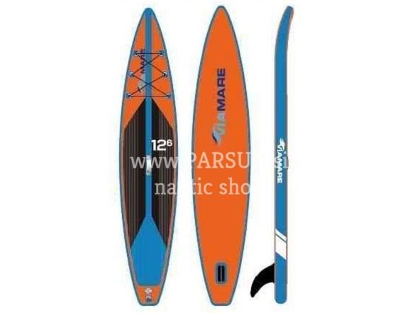 1 SUP board deska Viamare Race Board red-blue original