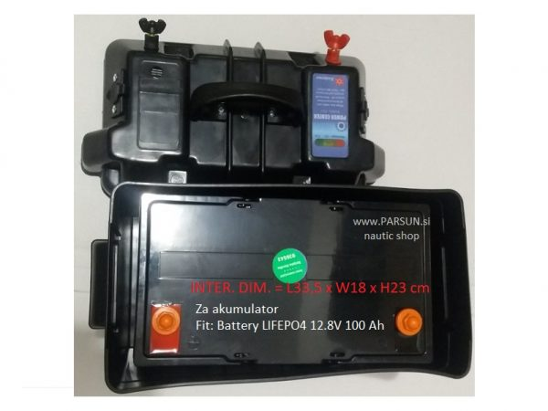varnostna škatla kutija za akumulator battery box nautica marine parsun