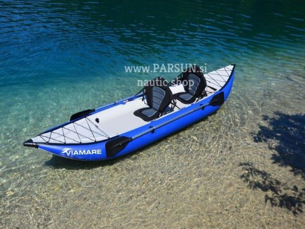 INFLATABLE KAYAK-CANOE Viamare Sit on top 400cm, Drop-stitch