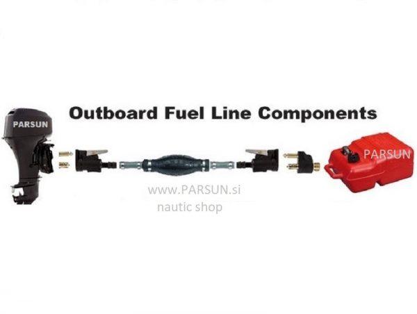 prenosni rezervoar za gorivo tank 12L set_fuel line