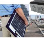 SOLAR POWER DC BATTERY AKUMULATOR MARINE NAUTIC_NAVTIKA COLNI CAMCI