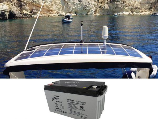 SOLAR POWER DC BATTERY AKUMULATOR MARINE NAUTIC_NAVTIKA COLNI CAMCI_4