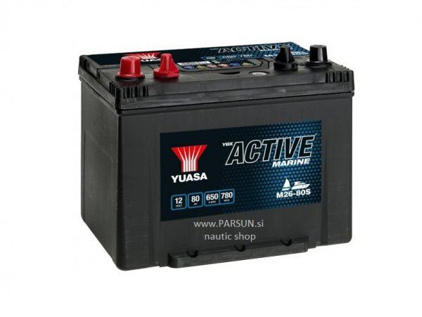 akumulator baterija yuasa marine 12V 80Ah