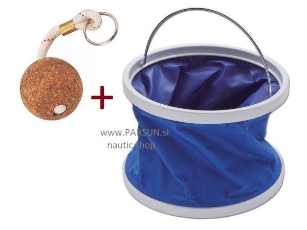 zlozljivo vedro posoda za vodo, nepotopljiv navticni obesek za kljuce folding bucket sklopivo vedro kanta
