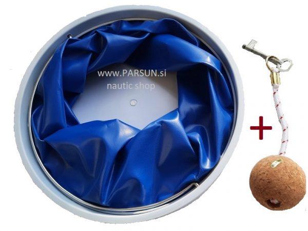 zlozljivo vedro posoda za vodo, nepotopljiv navticni obesek za kljuce folding bucket sklopivo vedro kanta_